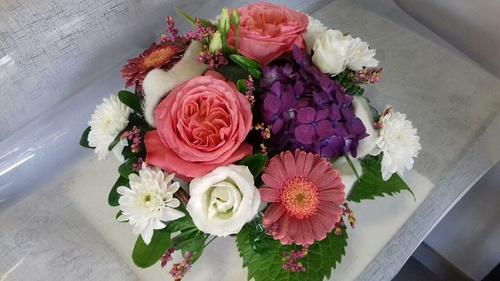 Composition de fleurs sur mesure