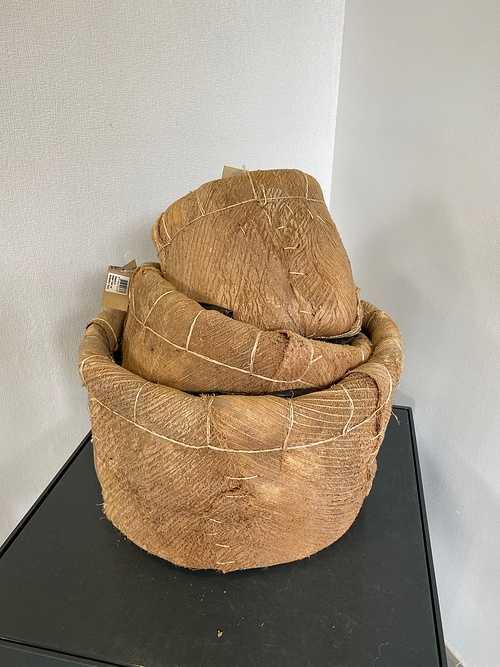 Vase / Panier - Tissu img5134