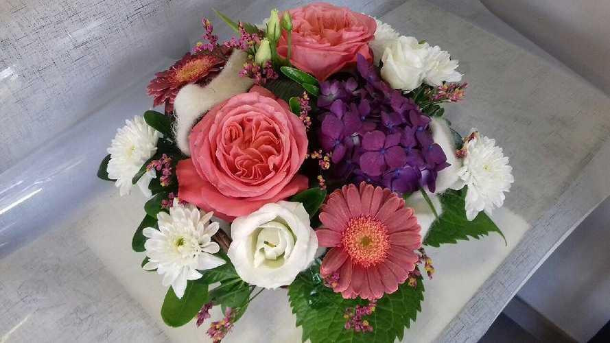 Composition de fleurs sur mesure 0